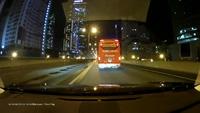 Xe khách bất ngờ chuyển làn khiến xe đi sau suýt gặp tai nạn