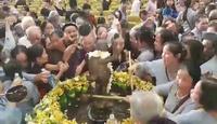 Ngộp thở tại lễ tắm Phật ở chùa Bái Đính