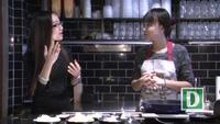 Cách làm mì udon xào cá hồi nấu trong sốt kem