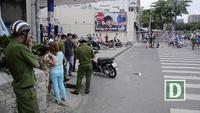 2 thanh niên rút hung khí đâm gục nhau trên đường