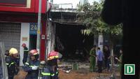 Cháy cửa hàng sơn khiến 3 người thương vong