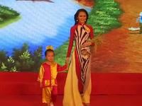 Đêm đăng quang Hoa khôi Nam Bộ 2017 của nữ sinh Trường ĐH Võ Trường Toản.