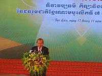 Phó Thủ tướng Thường trực Trương Hòa Bình phát biểu tại lễ khai mạc.