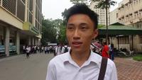 Phỏng vấn nhanh thí sinh Hà Nội về đề thi tổ hợp KHTN