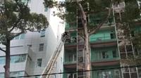 Cháy tại khách sạn Hạnh Long trên đường Trần Hưng Đạo