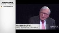 10 quy tắc thành công của tỷ phú Mỹ Warren Buffett