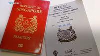 Singapore sở hữu hộ chiếu quyền lực nhất thế giới
