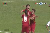 ĐT nữ Việt Nam 1-0 ĐT nữ Thái Lan: Hải Yến mở tỉ số