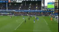 Everton 1-1 Arsenal: Monreal gỡ hòa cho đội khách