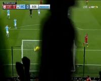 Liverpool 1-0 Man City: Phút 9, Oxlade-Chamberlain mở tỉ số