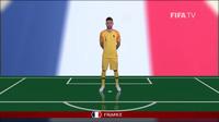 Đội hình xuất phát Pháp vs Peru