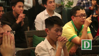 """Những khoảnh khắc """"đốt tim"""" khán giả trong trận   U23 Việt Nam - U23 Qatar"""