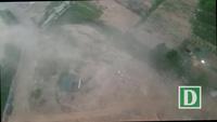 Hình ảnh cơn giông cuốn bụi mù mịt ở Hà Nội