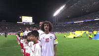 UAE từng đánh bại Nhật Bản ở trận lượt đi