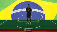 Đội hình ra sân trận Brazil - Costa Rica