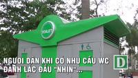 Hà Nội: Xây xong hàng loạt nhà vệ sinh công cộng rồi... khóa cửa
