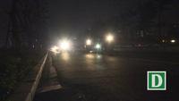 Hà Nội: Đường nghìn tỷ thông xe nửa năm vẫn chưa có điện chiếu sáng