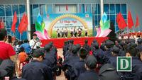 70 trẻ em học làm chiến sĩ Công an nhân dân
