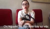 Clip: Chị Nguyễn Thị Thu trình bày lại sự việc bị bà Bùi Thị Oanh lừa đảo biến thành chủ nợ.