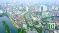 """Những tuyến đường đắt """"khét tiếng"""" của Hà Nội nhìn từ trên cao"""