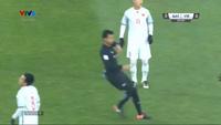 Akram Afif mở tỷ số cho Qatar trước U23 Việt Nam trên chấm phạt đền