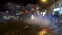 Biểu tình bạo lực tại Pháp tiếp diễn tại Paris sau vụ công dân Trung Quốc bị bắn chết