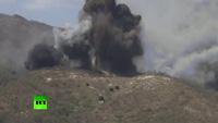 Xe tăng, máy bay Mỹ - Hàn rầm rộ tập trận bắn đạn thật
