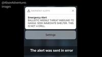 38 phút hoảng loạn của người Hawaii vì báo động tên lửa