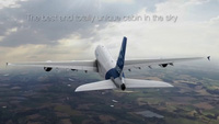 """Nội thất """"sang chảnh"""" bên trong siêu máy bay A380"""