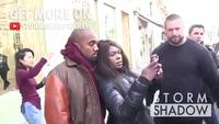 Kim Kardashian và Kanye West sành điệu ra phố