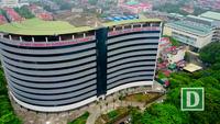 """Bệnh viện 5 sao bỏ hoang trên """"đất vàng"""" ở Hà Nội"""