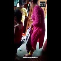 Video mẹ kế trừng phạt con chồng bằng cách nhét vào bao tải