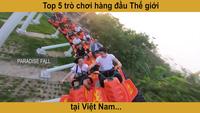 Vui chơi tại Sun World Danang Wonders