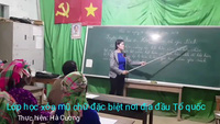 Lớp học xóa mù chữ đặc biệt nơi địa đầu Tổ quốc