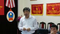 Ông Nguyễn Đức Hoà - Giám đốc BHXH Hà Nội đánh giá công tác triển khai BHXH, BHYT tại HÀ Nội.