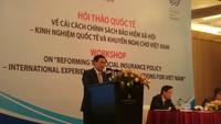 Phó Thủ tướng Vương Đình Huệ đánh giá về chính sách BHXH thời gian tới.
