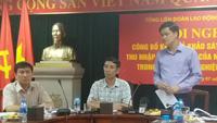Ông Ngọ Duy Hiểu - Trưởng Ban Quan hệ lao động (Tổng LĐLĐ VN) nói về đời sống công nhân viên lao động.