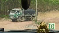 Xe trọng tải lớn cơi nới thùng có dấu hiệu quá tải rầm rập tung hoành tại huyện Tân Yên (Bắc Giang)