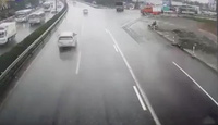 Clip vụ xe khách đâm xe cứu hoả đi ngược chiều trên cao tốc Pháp Vân - Cầu Giẽ