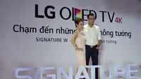 LG OLED SIGNATURE W – tuyệt tác TV hoàn hảo cho không gian sống xa hoa