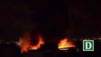 Cháy, nổ lớn tại khu vực gần cảng Sài Gòn