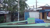 Nhiều nhà dân tốc mái, cây xanh bật gốc sau mưa