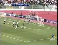 Argentina thua Bolivia 1-6 tại La Paz ở vòng loại World Cup 2010