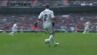 C.Ronaldo mở tỷ số cho Real Madrid trước Valencia