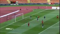 Tuấn Tài nâng tỷ số lên 4-0 cho U22 Việt Nam trước Campuchia