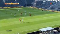Quang Hải mở tỷ số 1-0 cho U23 Việt Nam trước Myanmar