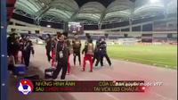 Quang Hải hạnh phúc sau khi ghi bàn vào lưới U23 Australia