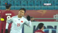 Quang Hải sút xa đẹp mắt, gỡ hòa 2-2 cho U23 Việt Nam trước Qatar