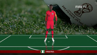 Đội hinh xuất phát ở trận đấu Nigeria-Iceland