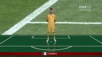 Đội hình xuất phát ở trận chung kết World Cup 2018 Pháp-Croatia